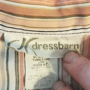 Dress Barn Tops - Dressbarn striped sleeveless top (XL)